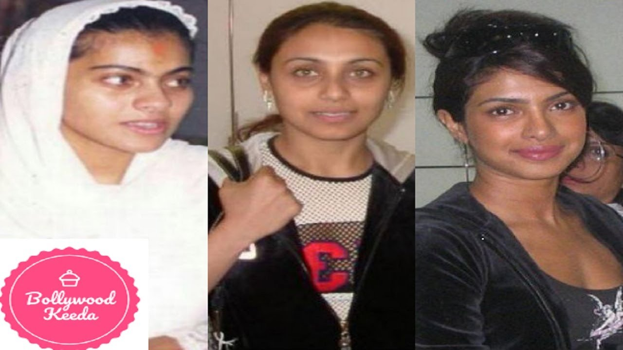 top 20 bollywood actress with & without makeup before and