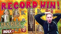 RECORD WIN on Secret of the Stones MAX Slot - £10 Bet *CRAZY MISCLICK!*