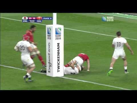 Brilliant try from Gareth Davies v England | Rugby World Cup 2015 | 26/09/2015