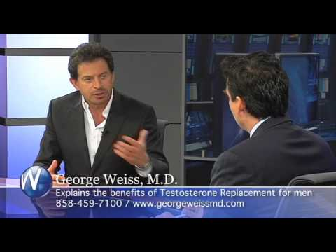 Testosterone Replacement, San Diego Anti-Aging Phys George Weiss, MD