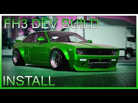 [SEP. 4. 2019] FH3 DEV BUILD