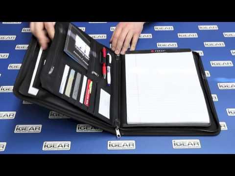 iPad Business Leather Portfolio