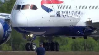 Video 787 British Airways Dreamliner Takes Off to the Sky Finally download MP3, 3GP, MP4, WEBM, AVI, FLV Maret 2018