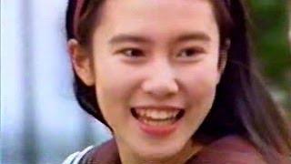 [CM] 中谷美紀 キリンレモン 自転車篇 1992 TvCm2013.