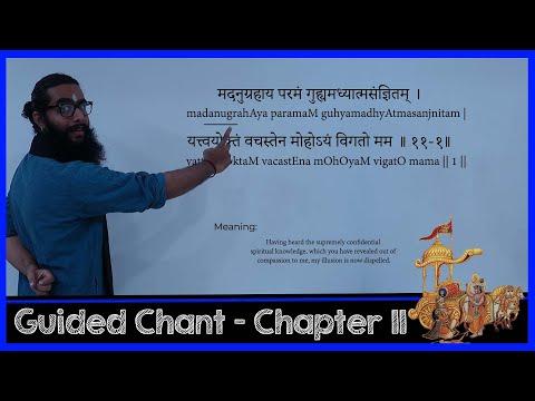 Complete Eleventh Chapter of Bhagavad Gita - Vishwaroopa Darshana Yoga