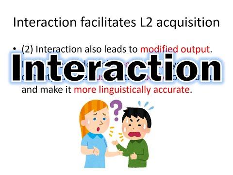 Interaction in SLA