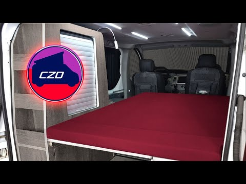 Kit conversion camper camperized mueble cama camper czd for Muebles para furgonetas camper