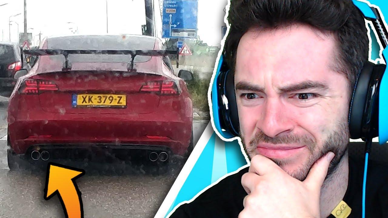 Tesla But It's Gas Powered (Sh***y Car Mods #29)