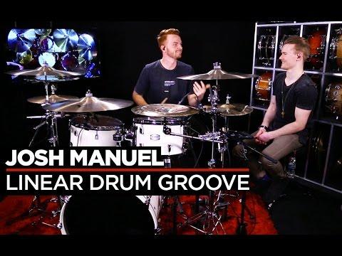 Linear Drum Patterns  Josh Manuel  Lesson