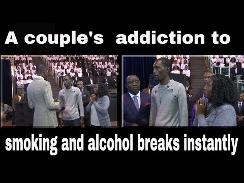 A COUPLE'S ADDICTION TO SMOKING AND ALCOHOL BREAKS INSTANTLY