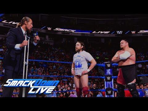 Big Cass interrupts confrontation between Daniel Bryan and Samoa Joe: SmackDown LIVE, May 29, 2018