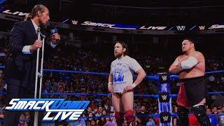 Video Big Cass interrupts confrontation between Daniel Bryan and Samoa Joe: SmackDown LIVE, May 29, 2018 download MP3, 3GP, MP4, WEBM, AVI, FLV Juni 2018