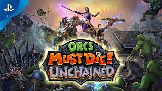 Orcs Must Die! Unchained - Launch Gameplay Trailer | PS4