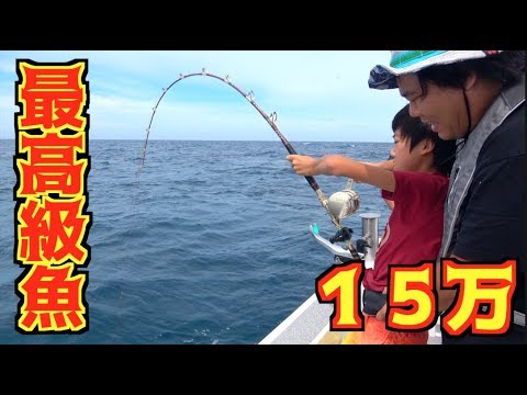 超高級魚!15万円相当の巨大クエが釣れた!