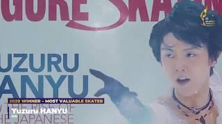 Японский фигурист Юдзуру Ханю получил премию ISU Skating Awards в номинации Самый ценный фигурист