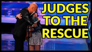 """Top 10 """"When Judges Help The Contestant"""" on Got Talent World!"""