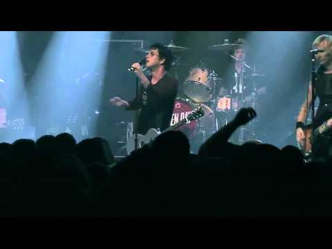 Green Day  -  Scattered  -  (Live at Irving Plaza 2012)