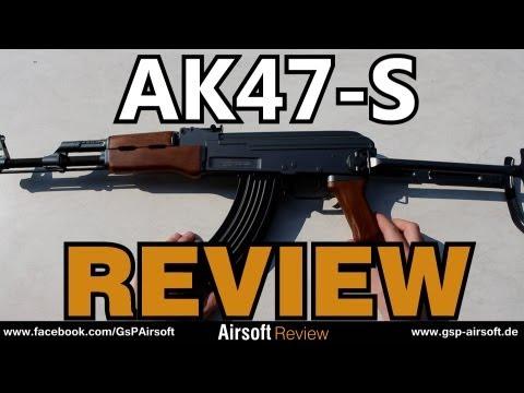 AK47-S Softair Review (GsP Airsoft) GERMAN
