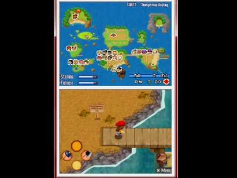 Harvest Moon: Sunshine Islands - Fall 2, Year 1 - Raising Wild Animal Island [part 2/2]