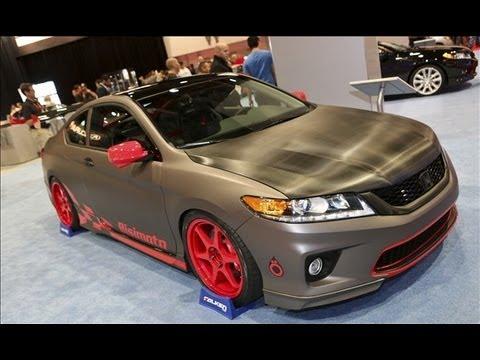 Custom 2015 Honda Accord Coupe - YouTube