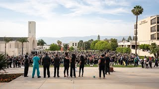 Loma Linda University Solidarity Vigil