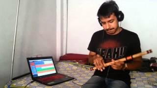 Tere Bin Nahi Lage | Ek Paheli Leela | Bansuri Instrumental By Nitish Mishra