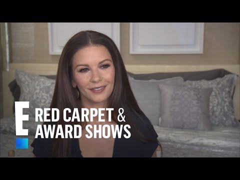 Catherine Zeta-Jones Says Michael Douglas Approves New Line | E! Live from the Red Carpet