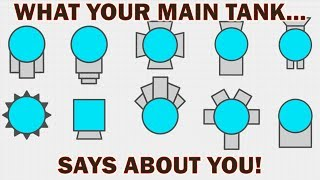 Diep.io - What Your Main Tank Says About YOU! (Analysis)