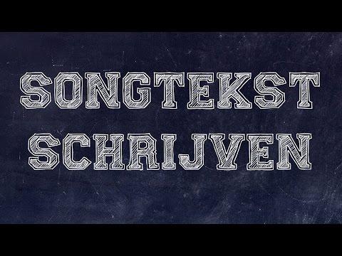 Junior Songwriter School: Songtekst schrijven