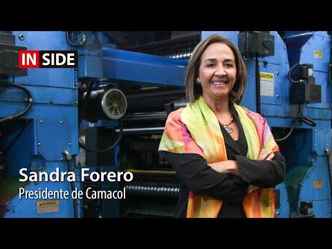 Sandra Forero, presidente de Camacol en Inside LR