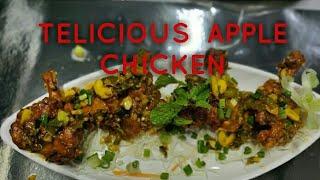 APPLE CHICKEN in restaurant /outing vlog