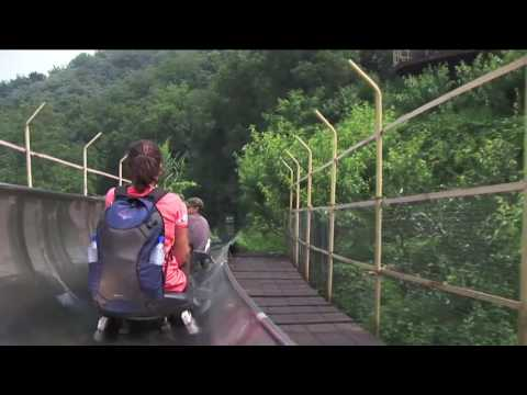 Great Wall of China Slide // Go Kart Ride !!!