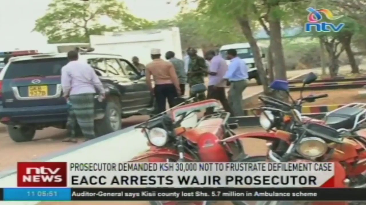 EACC arrests Wajir prosecutor Francis Andayi for allegedly demanding bribe