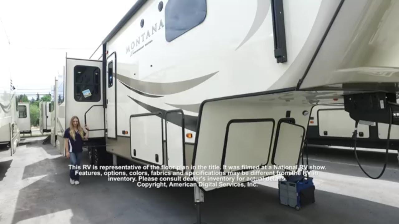 New 2019 Keystone RV Montana 3700LK Fifth Wheel at RV