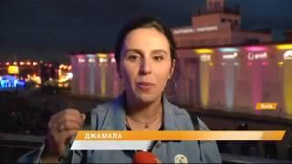 3D изображения и видео инсталляции - фестиваль света в Киеве