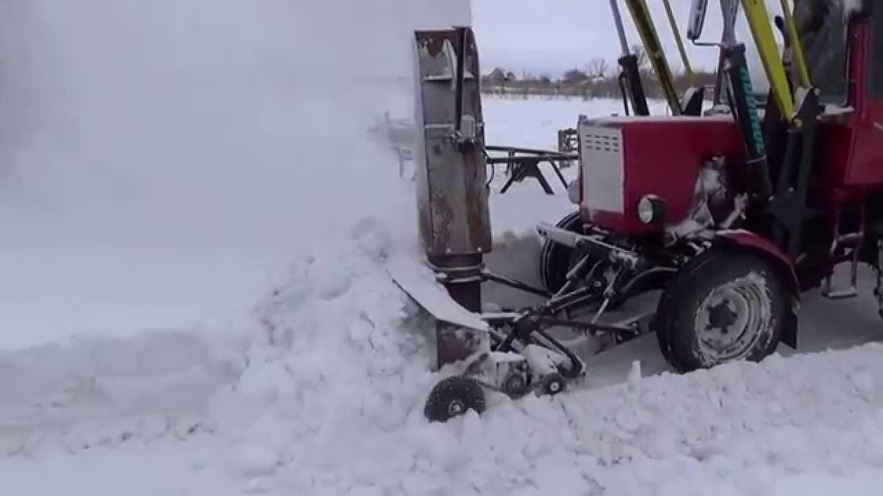 Снегоуборщик для минитрактора своими руками фото 935