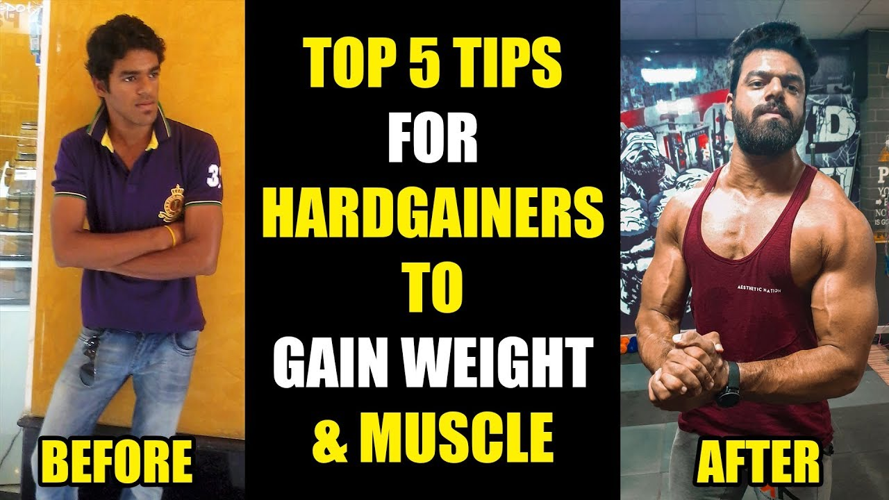 Top 5 Tips For Hardgainers (Weight Gain + Muscle Building ...