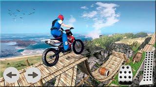 Ramp Moto Bike Racing Stunts Game #Dirt Motor Bike Racing Games