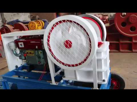 portable diesel engine stone crusher - Shanghai Lipu