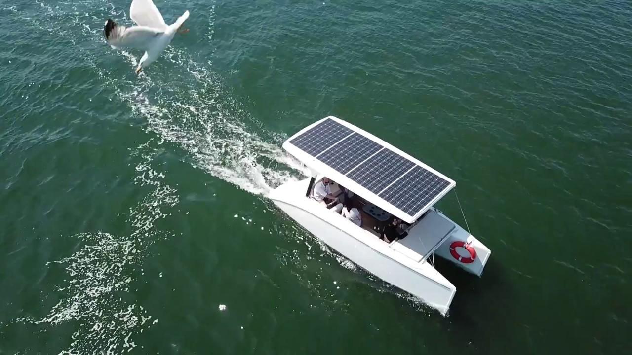 Solar Boat in Lisbon
