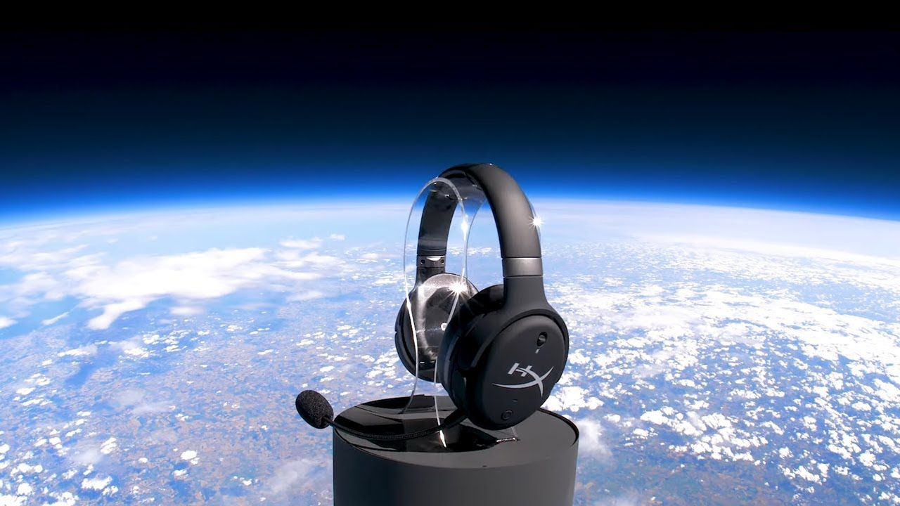 WE SENT A HEADSET TO SPACE! 🎧🛰️🌌🔭👽✨🎈