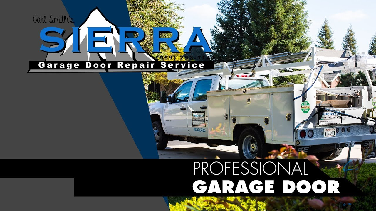 Sierra Garage Door Repair Service Promo (Fresno Ca)