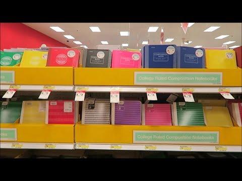 Target School Supplies 2017