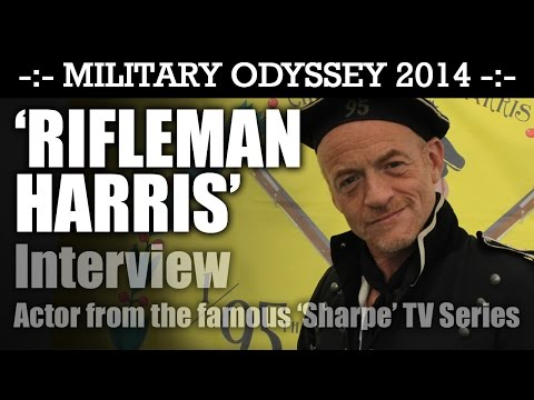 Rifleman Harris (Jason Salkey) Interview from the hit TV Series 'SHARPE' Military Odyssey 2014 | HD