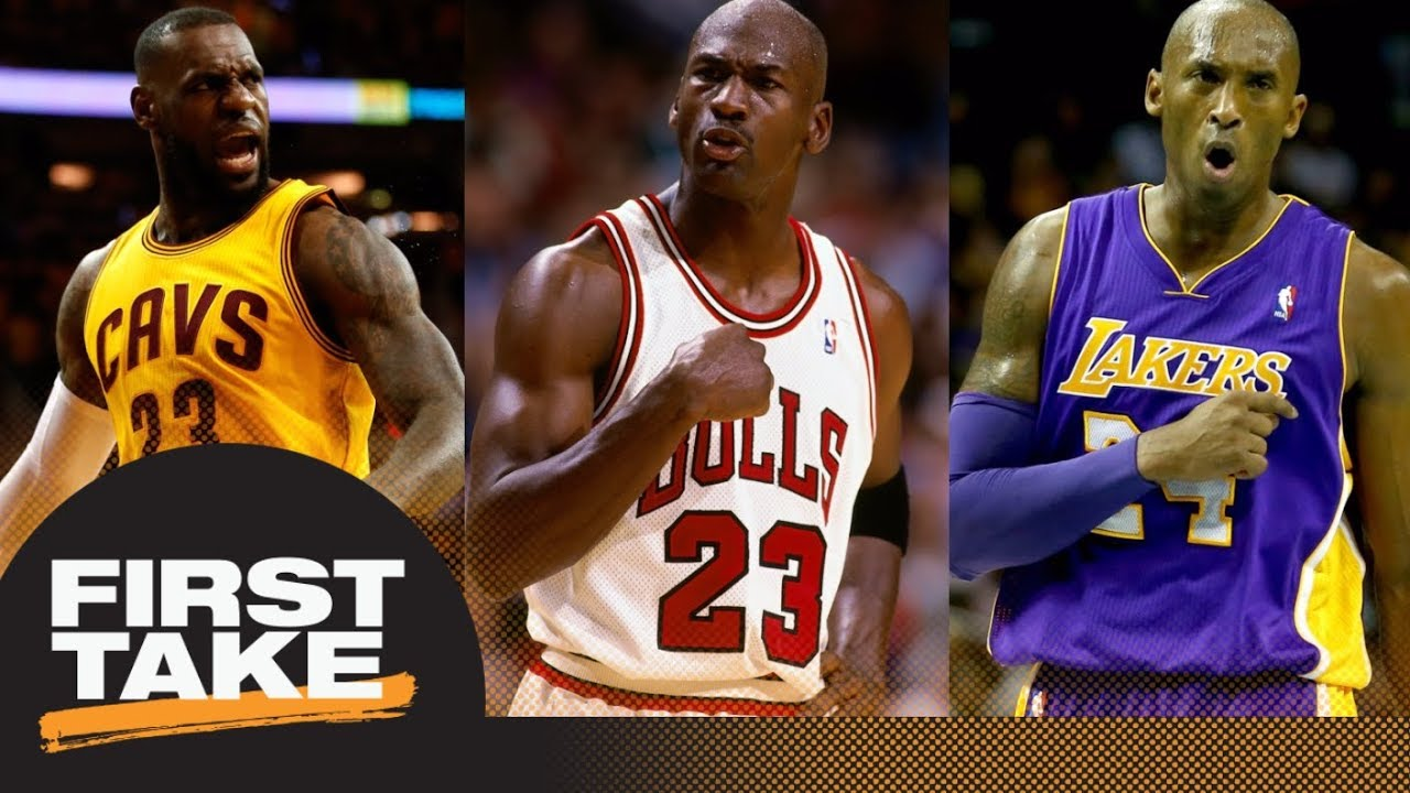 80beb7ea773 Kobe Bryant or LeBron James  First Take debates closest to being Michael  Jordan