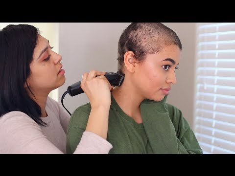 I LET MY FRIEND SHAVE MY HEAD (YES IM BALD)