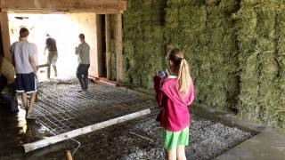 Removing Old Concrete From Corn Crib......2 Of 3