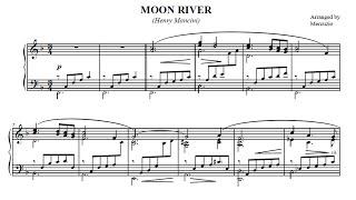 Moon River (Mancini) Arranged for Piano by Mercuzio