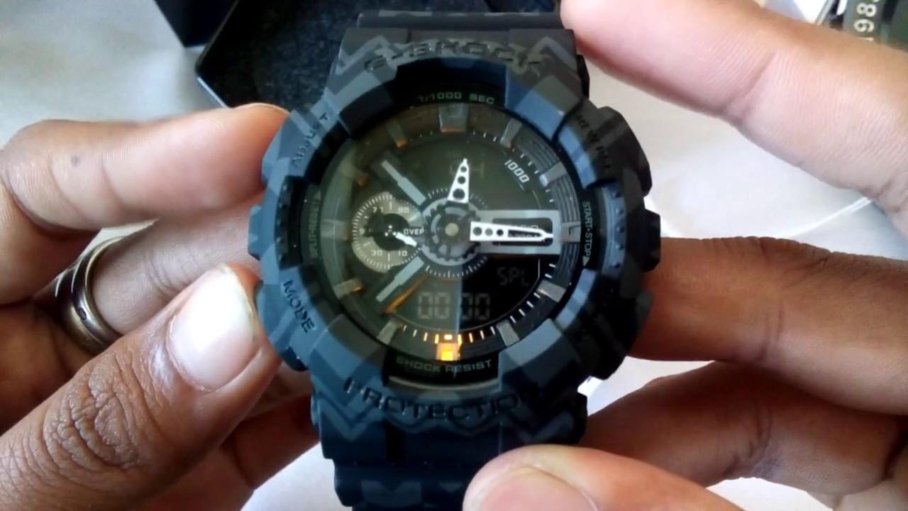 8f5258d45e0 Jam Tangan Casio G-Shock GA-110-TP-1ADR Original BM ( OEM Thailand Made) No  Autolight