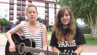 I Want It That Way - B.S.B (Acoustic cover) Sandra & Anna